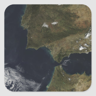 The Strait of Gibraltar Square Sticker
