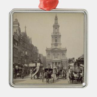 The Strand, c.1880 (sepia photo) Christmas Ornament