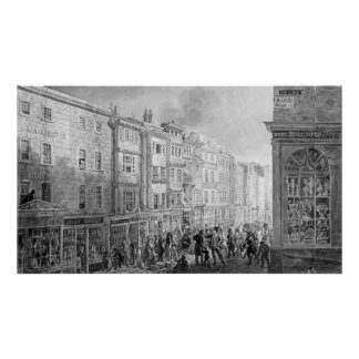 The Strand from the corner of Villiers Street Poster