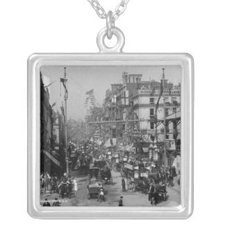 The Strand London with Jubilee Decorations Silver Plated Necklace