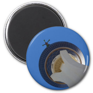 The Stratosphere 6 Cm Round Magnet