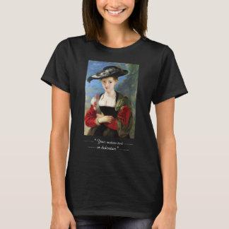 The Straw Hat Peter Paul Rubens masterpiece T-Shirt