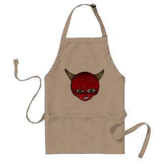 The strawberry devil apron