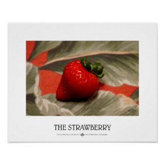 The Strawberry Poster