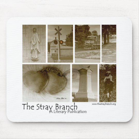 The Stray Branch Mouse Mat