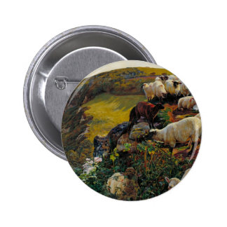 The Strayed Sheep 6 Cm Round Badge