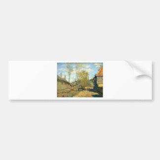 The Stream of Robec at Rouen by Claude Monet Bumper Sticker