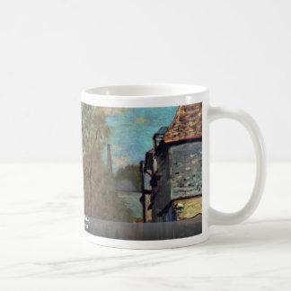 The Stream Of Robec By Claude Monet Coffee Mug