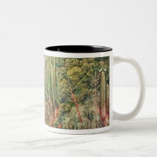 The Streams of Languenas in the Cordellera, Chile Two-Tone Coffee Mug