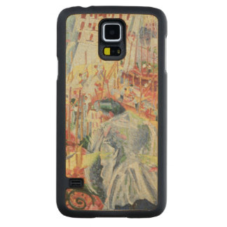 The Street Enters the House, 1911 Carved Maple Galaxy S5 Case
