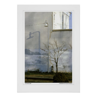 The Street Lamp Poster