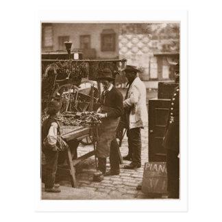 The Street Locksmith, from 'Street Life in London' Postcard