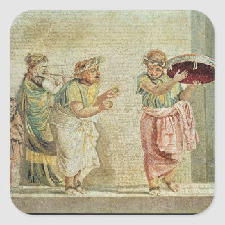 The Street Musicians, c.100 BC Stickers