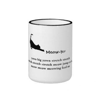 The Stretch: Meow-ku (not a haiku) Mug