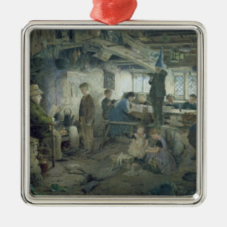 The Strict School Master, 1868 Christmas Ornament