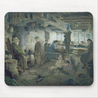 The Strict School Master, 1868 Mouse Mat