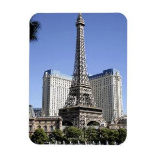 The Strip, Paris Las Vegas, Luxury Hotel Rectangular Photo Magnet