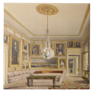 The Striped Drawing Room, Apsley House, 1853 (prin Tile
