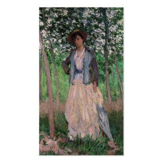 The Stroller - Claude Monet Business Cards