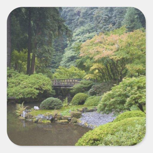 The Strolling Pond with Moon Bridge Sticker