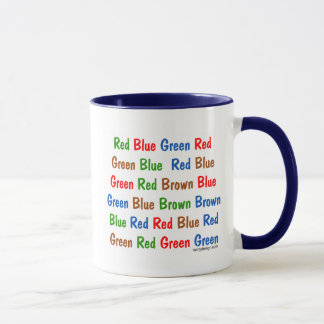 The Stroop Test Mug