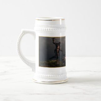 The Struggle of the Knight Templar 18 Oz Beer Stein