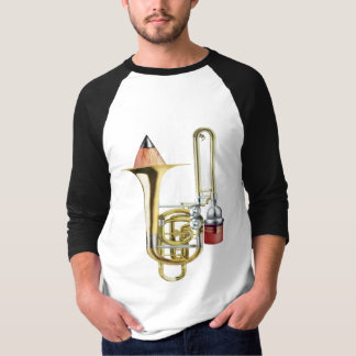 The Stubbie Bass Trombone T-Shirt