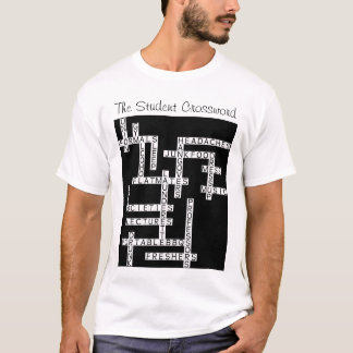 The Student Crossword T-Shirt