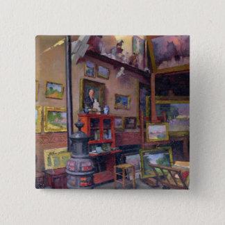 The Studio 50, rue Saint-Didier 15 Cm Square Badge