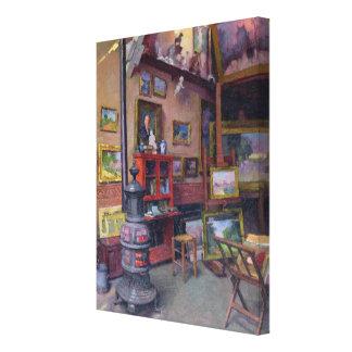 The Studio 50, rue Saint-Didier Canvas Print
