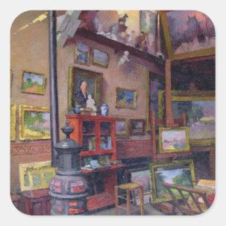 The Studio 50, rue Saint-Didier Square Sticker