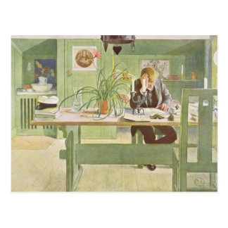 The Study Room, pub. in 'Lasst Licht Hinin'(`Let i Postcard