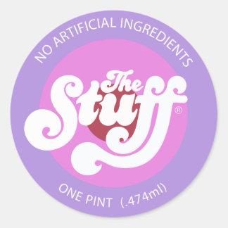 The Stuff Classic Round Sticker
