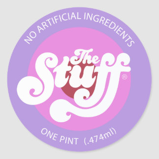 The Stuff Round Sticker