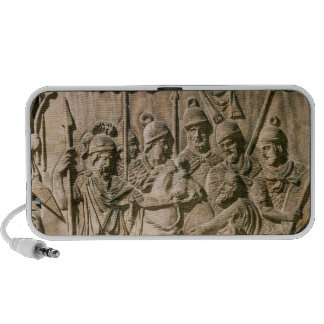 The submission of a barbarian to a Roman troop Travelling Speaker
