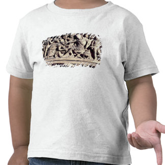 The submission of a barbarian to a Roman Tshirts