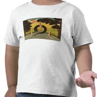The submission of Kaliya, Basohli, Pahari T Shirt