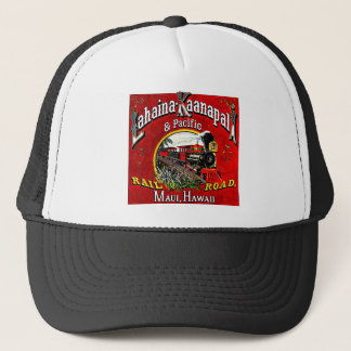 The Sugar Cane Train with Baldwin  Locomotives Trucker Hat