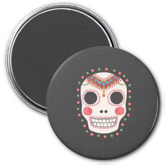 The Sugar Skull 7.5 Cm Round Magnet
