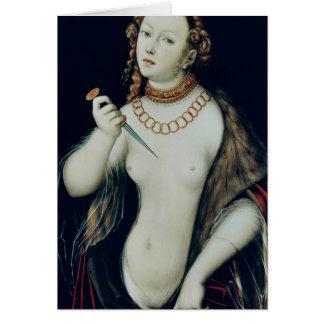 The Suicide of Lucretia 1538 Cards