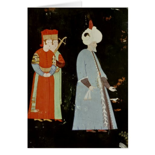 The Sultan Suleyman the Magnificent Greeting Card
