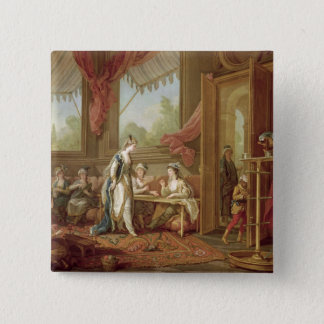 The Sultana Ordering Tapestries 15 Cm Square Badge