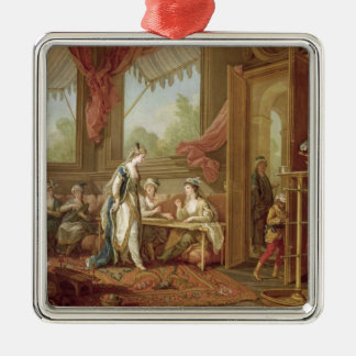 The Sultana Ordering Tapestries Christmas Ornament