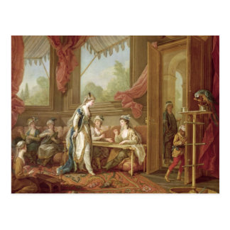 The Sultana Ordering Tapestries Postcard
