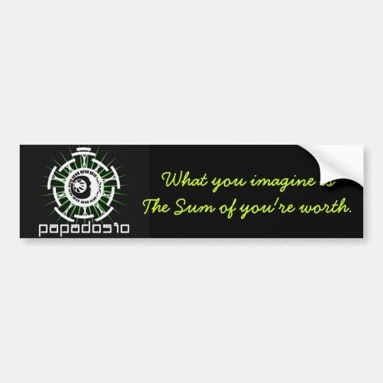 'The Sum' Bumper Sticker Inspired by Papadosio