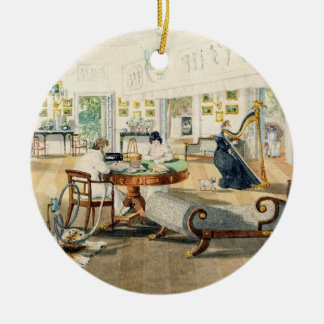 The Summer Room in the Artist's House at Patna, In Christmas Ornament