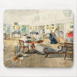 The Summer Room in the Artist's House at Patna, In Mouse Pad
