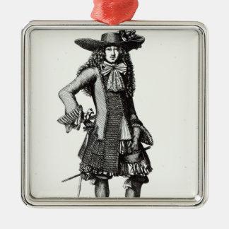 The Summer Sword Dress, 1675 Christmas Ornament