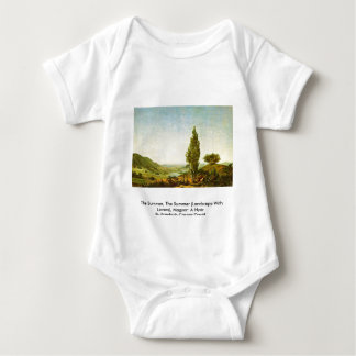 The Summer, The Summer  (Landscape With Lovers) Baby Bodysuit