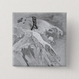 The Summit of the Moming Pass in 1864, from 'The A 15 Cm Square Badge